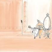 Zu Cocos Zeit zwängen sich noch viele Damen in ein Korsett ...