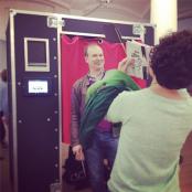 Witzige Schnappschüsse aus dem Fotoautomat von APHOTOBOOTH konnte man auch machen; Foto: MKG
