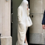 Lady Gaga unterwegs in New York - in Haniehs Mantel