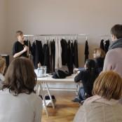 Last but not least: Irina Rohpeters Studio ist heute unsere letzte Station; Foto: MKG