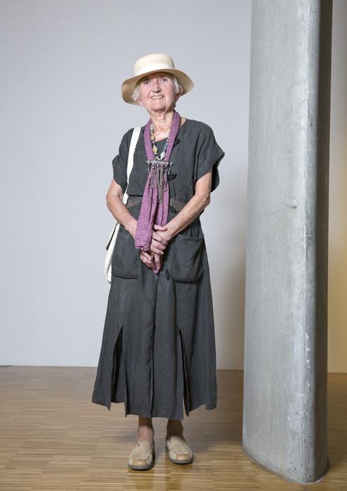 Eine Frau von Welt! Foto: Ulla Deventer