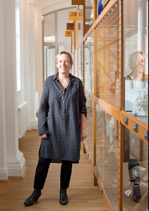 """Karo ist Trumpf, in unser Sammlung """"Design nach 45"""". Foto: Lisa Notzke"""