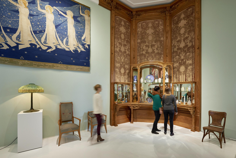 """Nachhaltig shoppen: das """"Pariser Zimmer"""" wurde 1900 für's MKG angekauft."""