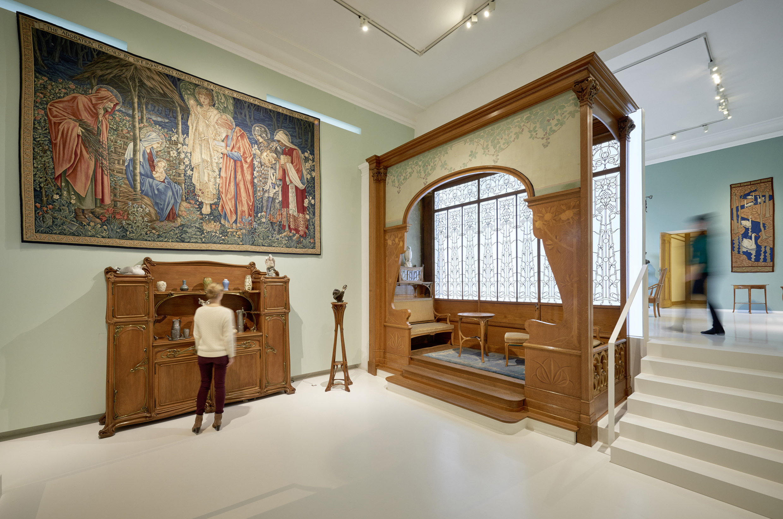 MKG-Gründungsdirektor Brinckmann legte 1900 auf der Pariser Weltausstellung den Grundstein für die umfangreiche Sammlung.